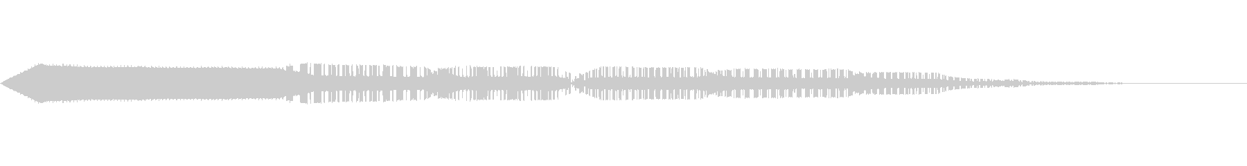 ピコッ。の未再生の波形