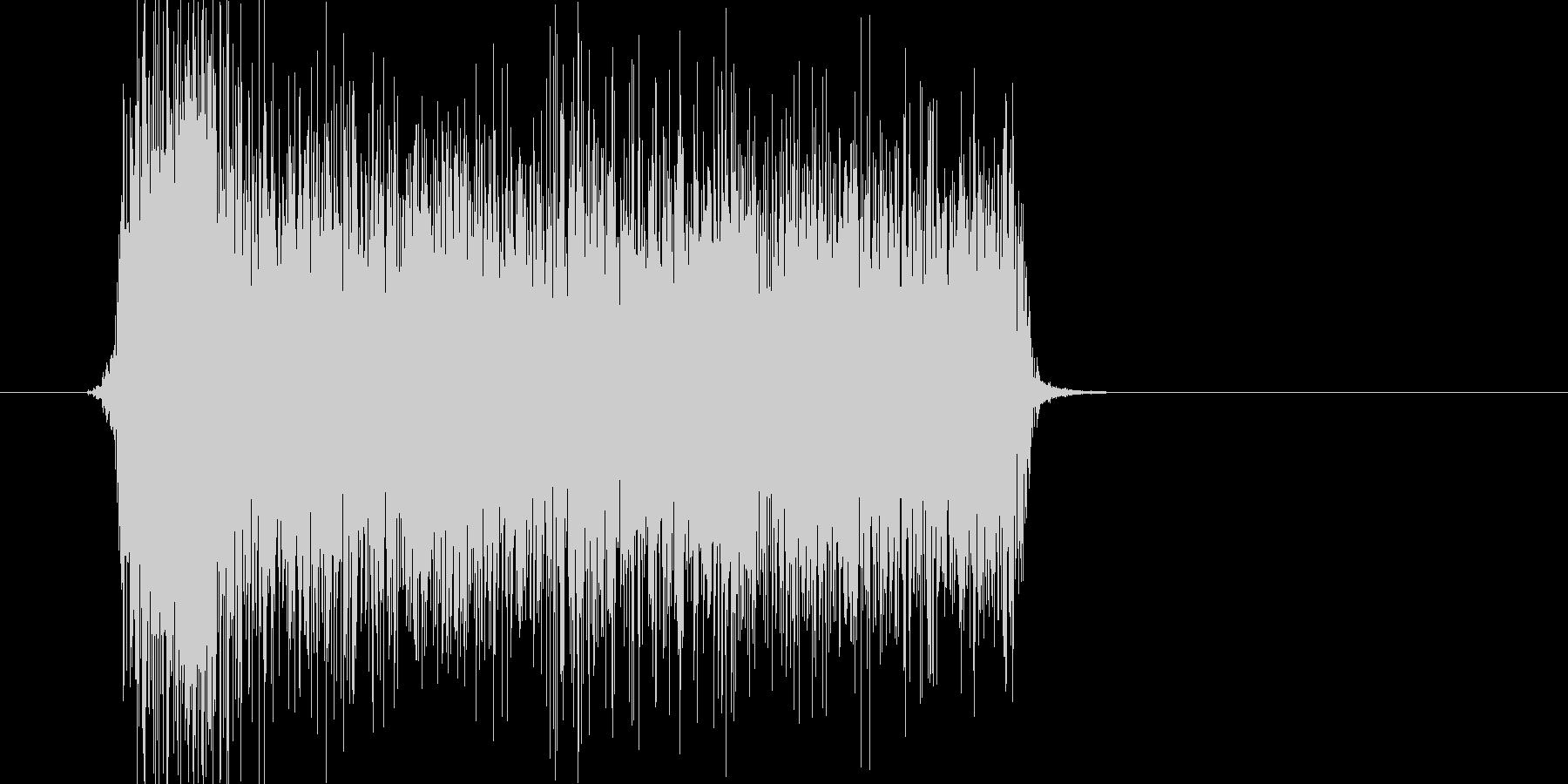 シューッ(スプレー、落書き、ペイント)の未再生の波形