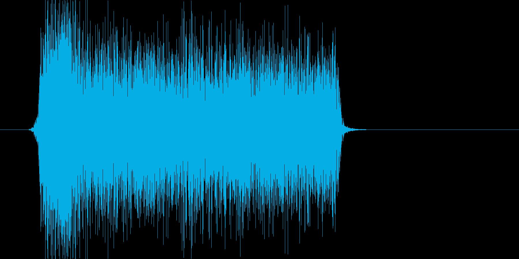 シューッ(スプレー、落書き、ペイント)の再生済みの波形