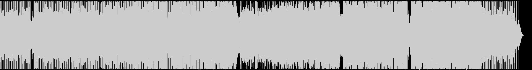 ポップでメロディアスなボイスカットEDMの未再生の波形