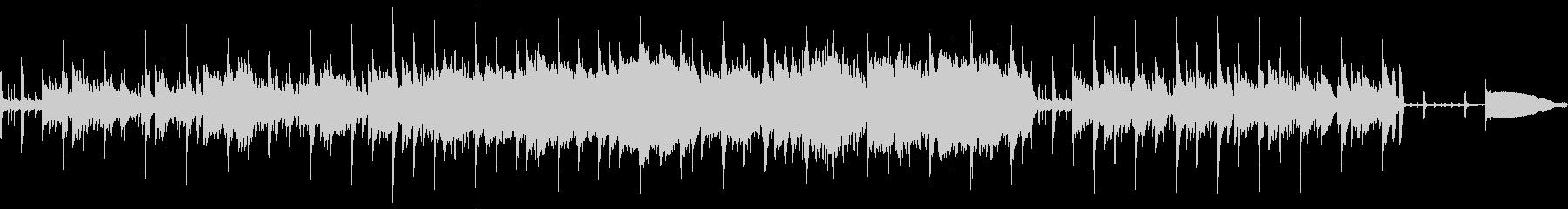 けだるいムードのジャズラウンジ風BGMの未再生の波形