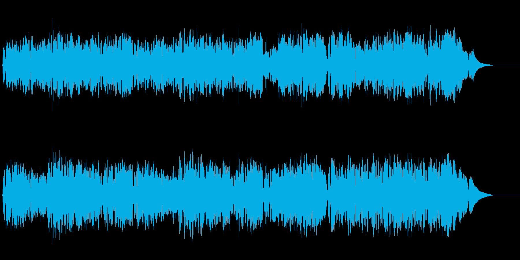 中世の室内楽系マイナー・バロックの再生済みの波形