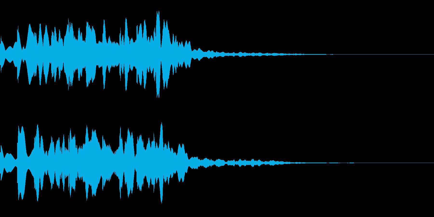 News ニュース番組のトピックSE 5の再生済みの波形