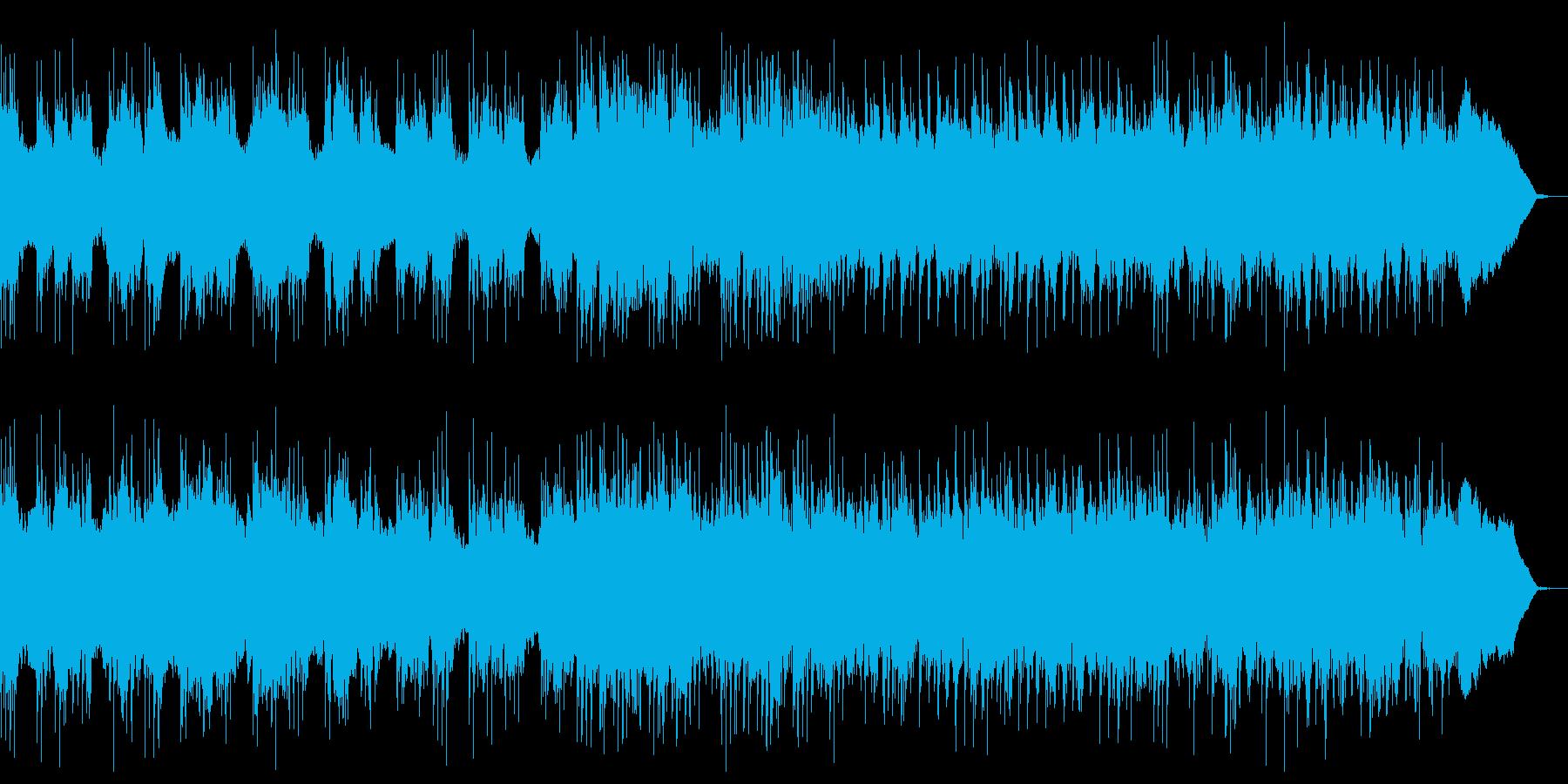 重厚なヘビーメタル ダークな魔族系戦闘曲の再生済みの波形