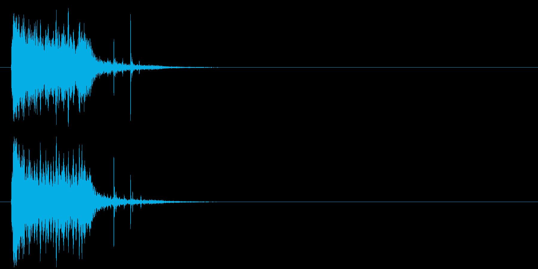 ズッコケ 場面転換 コミカル コントの再生済みの波形