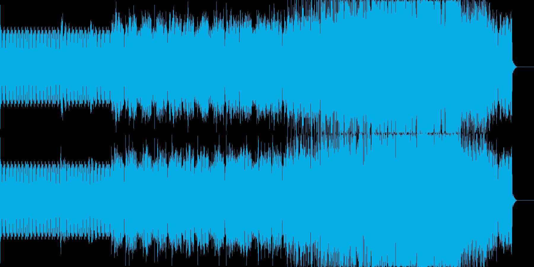 ミニマル・ポップなエレクトロニカの再生済みの波形