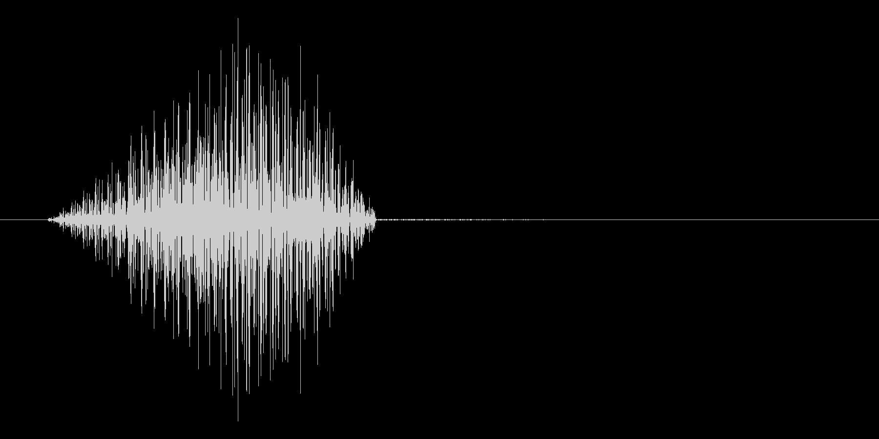 ゲーム、アプリに使えるキャンセル系SEの未再生の波形