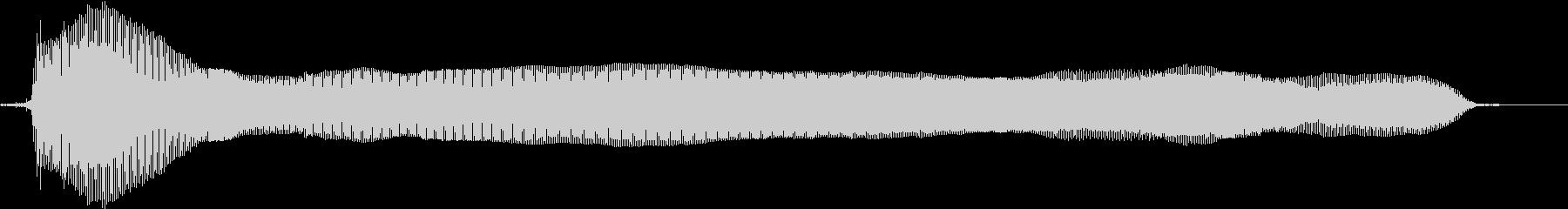 猫の鳴き声(甘えるような声 テイク2)の未再生の波形