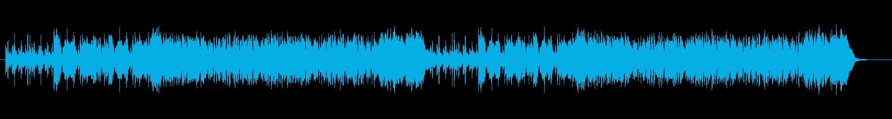 不思議な雰囲気のゲーム音楽の再生済みの波形