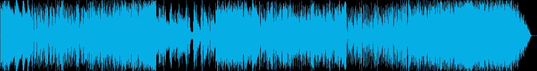イントロ暗め~軽快なサビ~アドリブ~EDの再生済みの波形