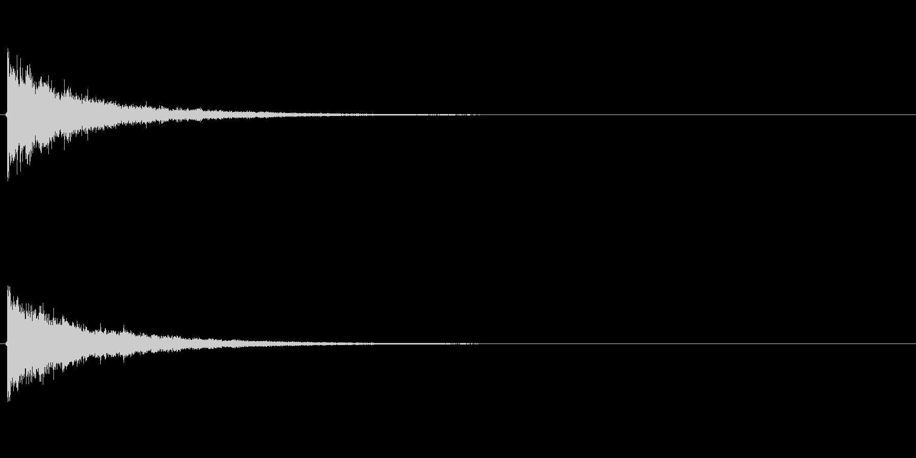 タッチ カーン-4の未再生の波形