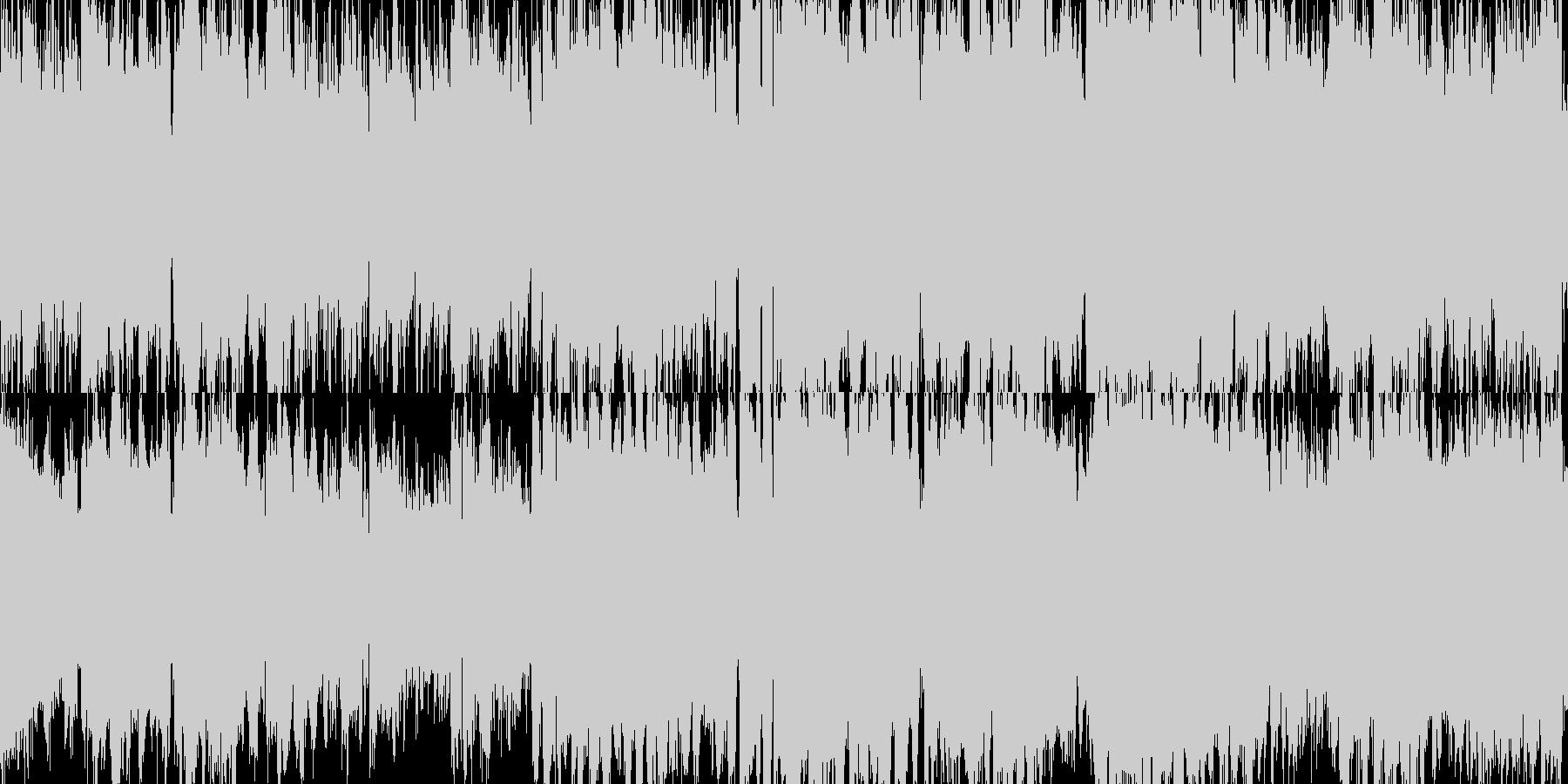 和風お祭りBGM ループ曲の未再生の波形