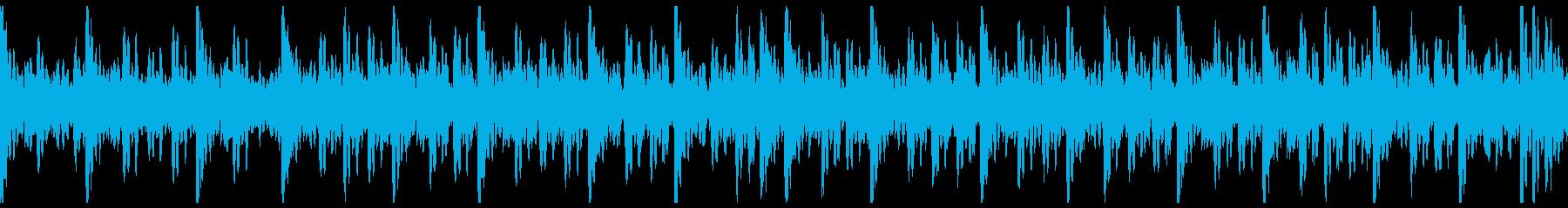 和太鼓(中太鼓)ソロ アップの再生済みの波形