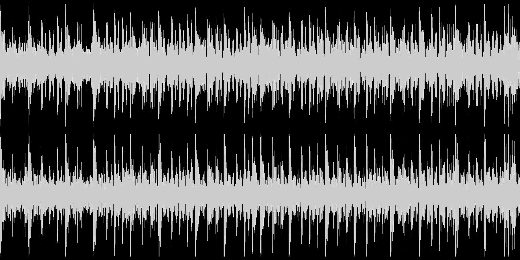 和太鼓(中太鼓)ソロ アップの未再生の波形