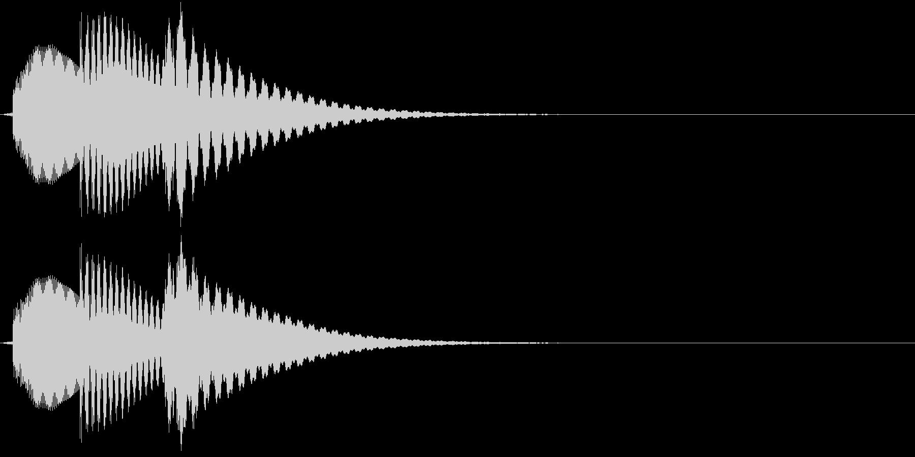 ティントントン!(電子)の未再生の波形