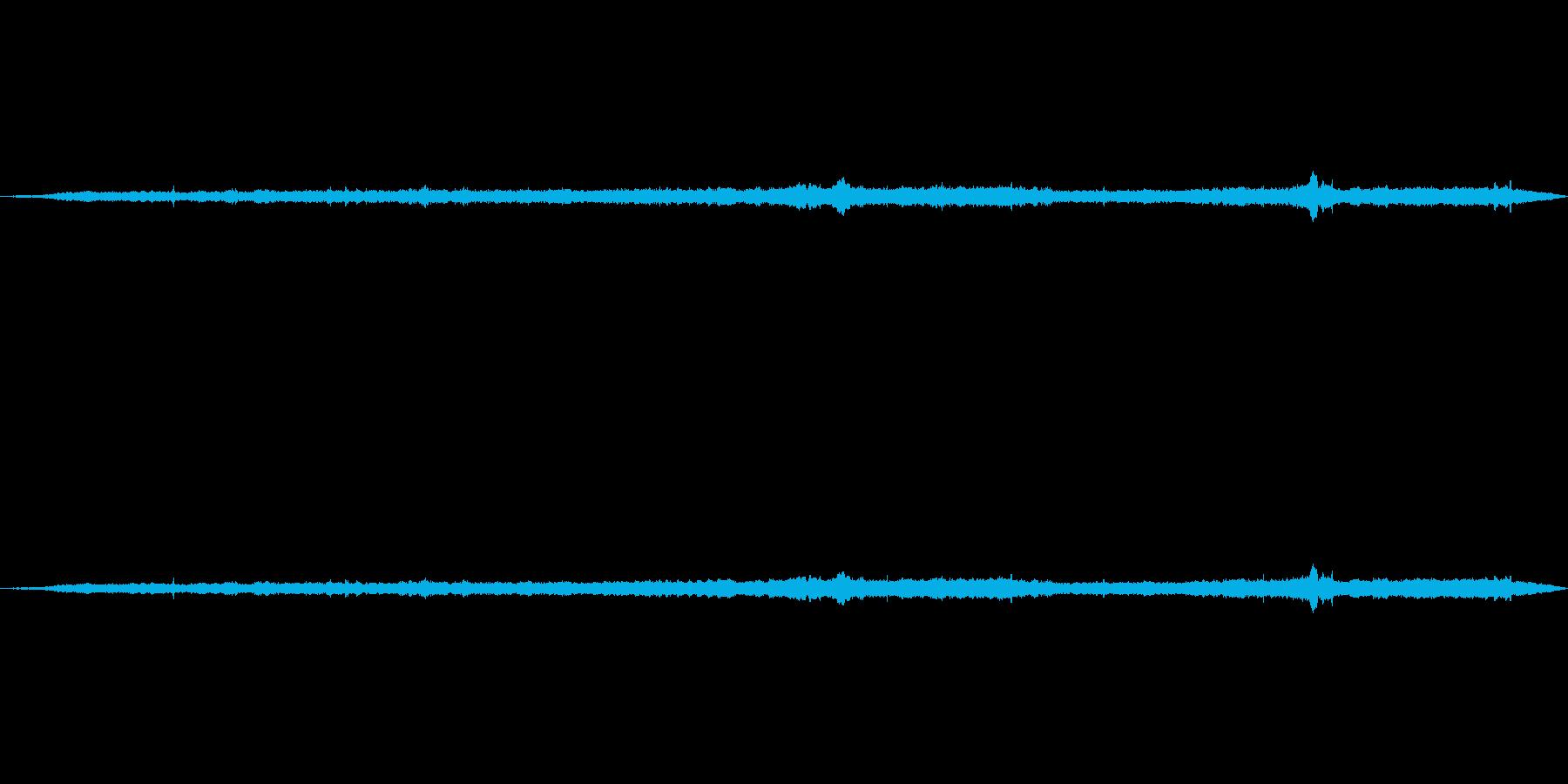 水の中、ボコボコ(水中で聴こえる水の音)の再生済みの波形