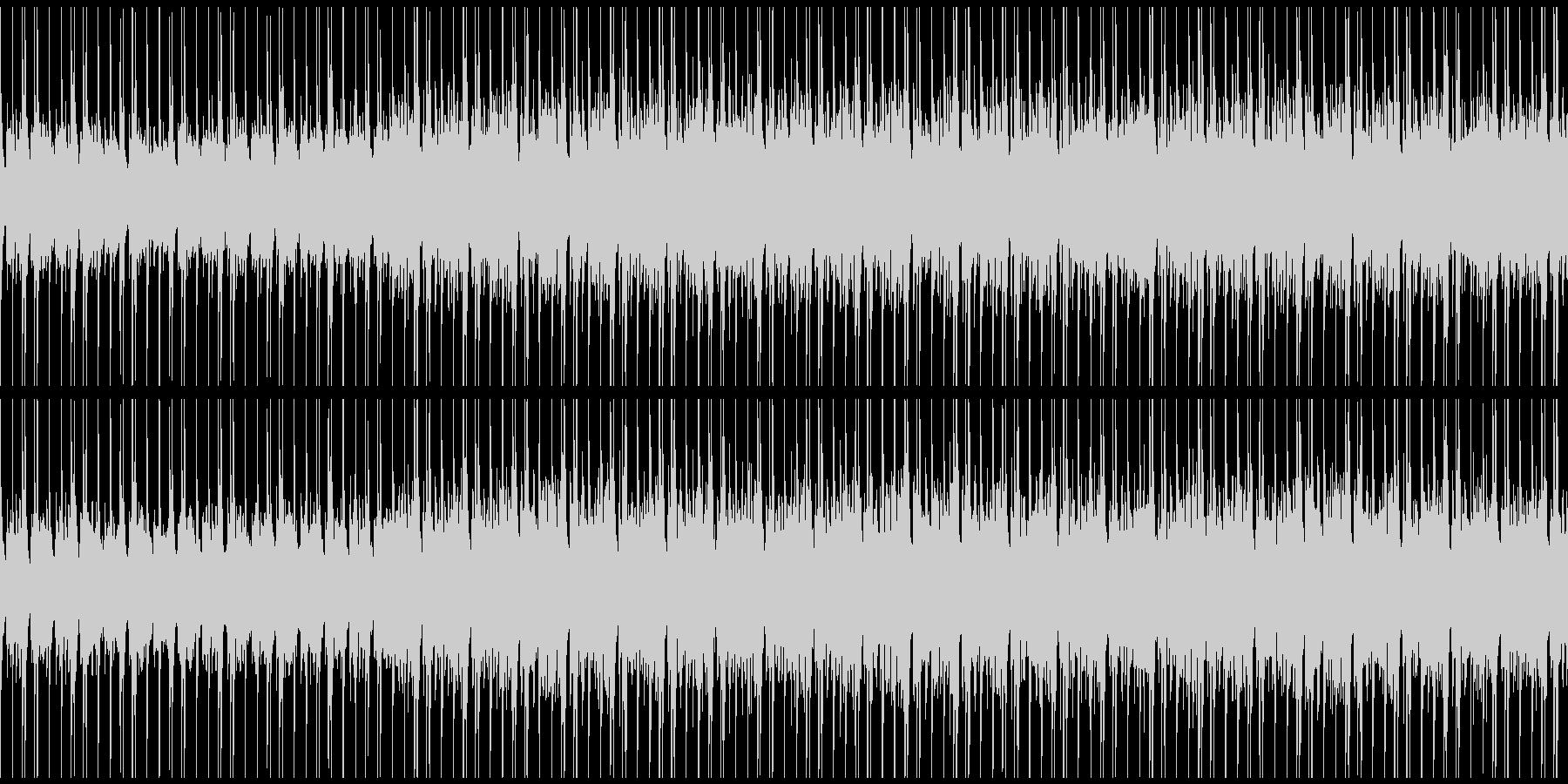 ほのぼのとした和やかBGMの未再生の波形