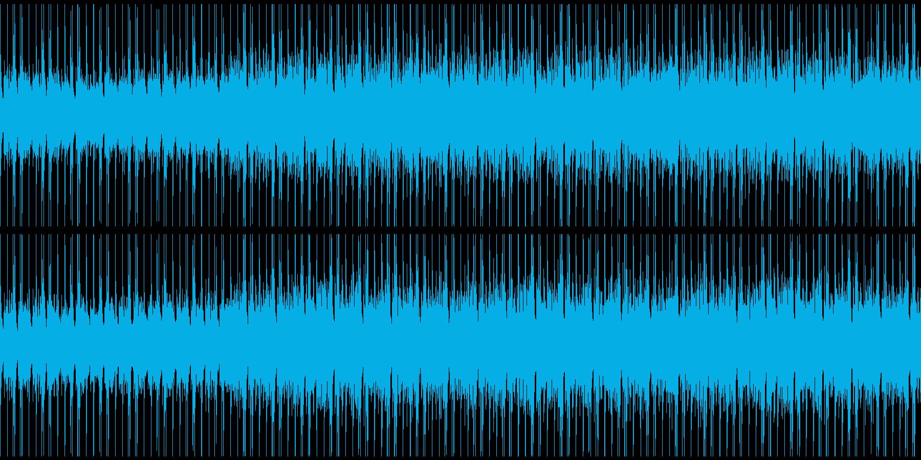 ほのぼのとした和やかBGMの再生済みの波形