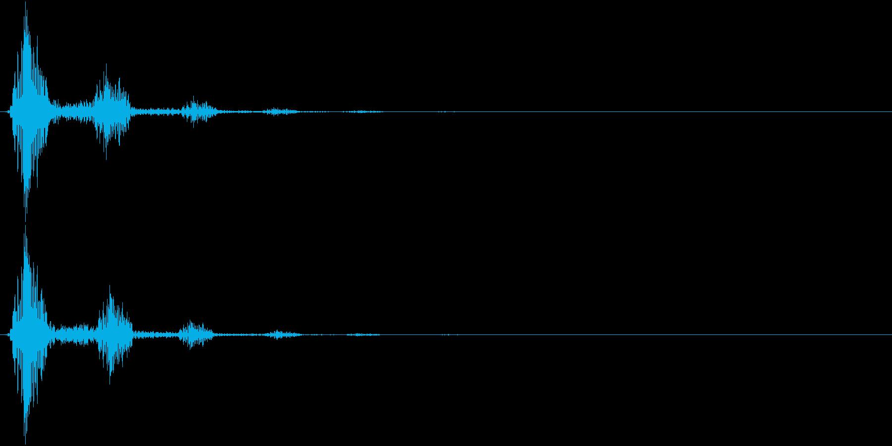 KAKUGE 格闘ゲーム戦闘音 47の再生済みの波形