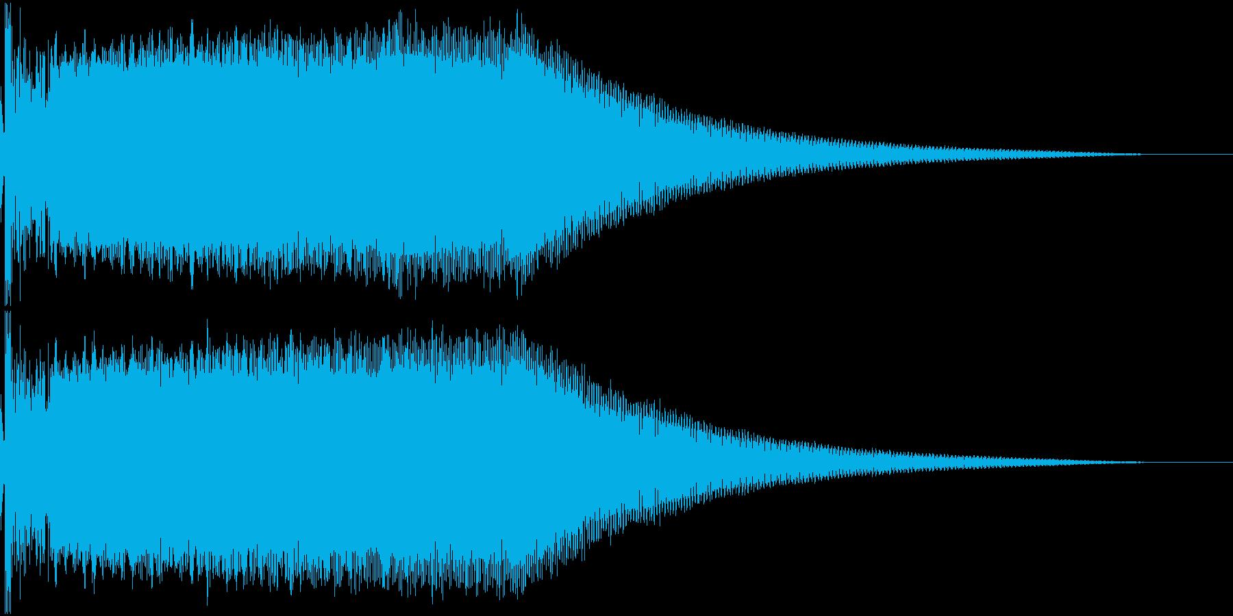 ビームライフル発射音 タイプ8の再生済みの波形