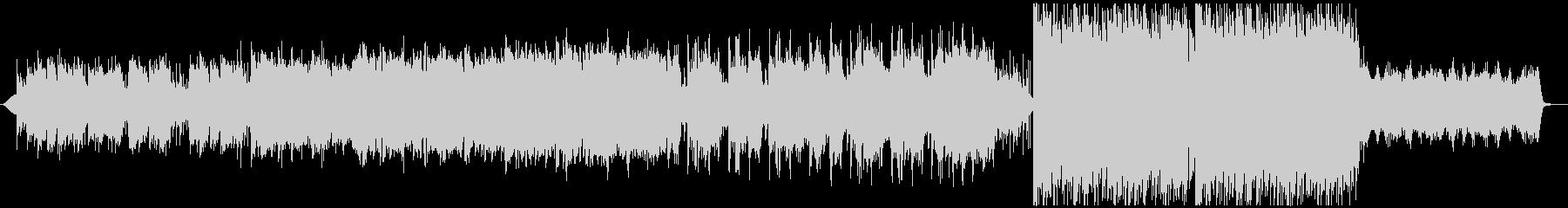 フルートの旋律が美しいケルト風な切ない曲の未再生の波形