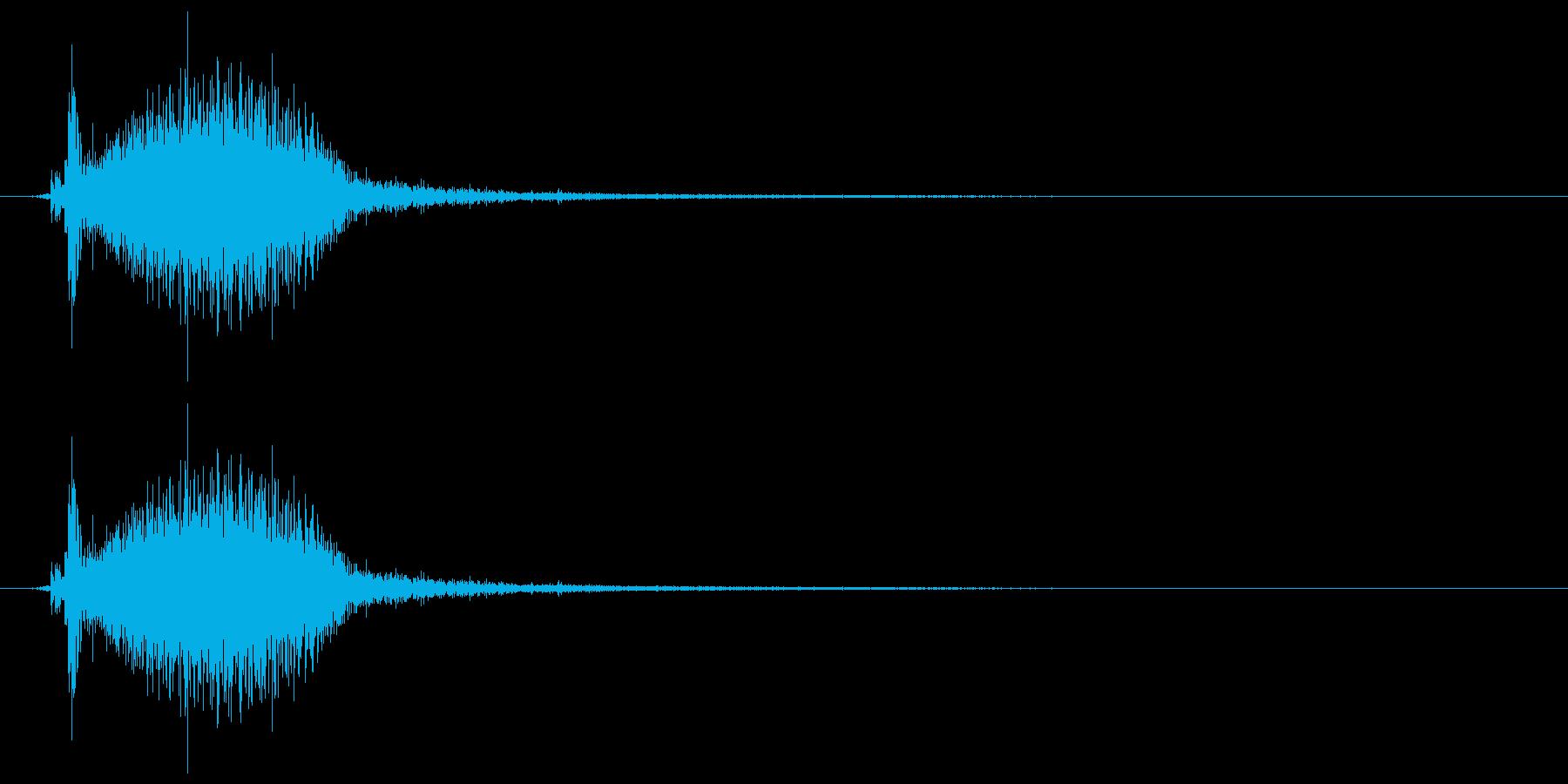 シュッ/霧吹き/1回の再生済みの波形