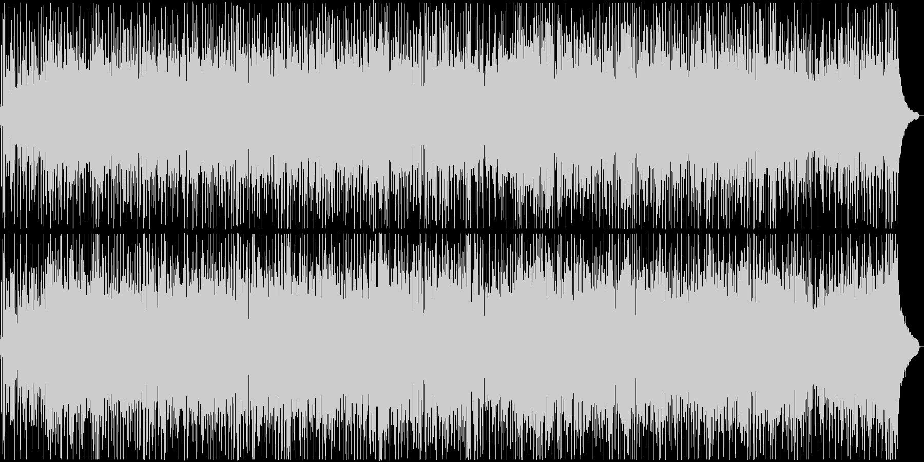 アコギを用いた爽やかなポップ楽曲の未再生の波形