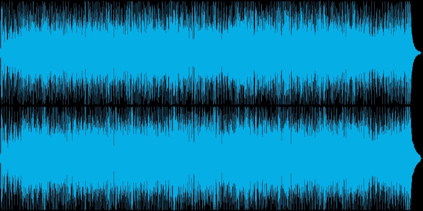 アコギを用いた爽やかなポップ楽曲の再生済みの波形