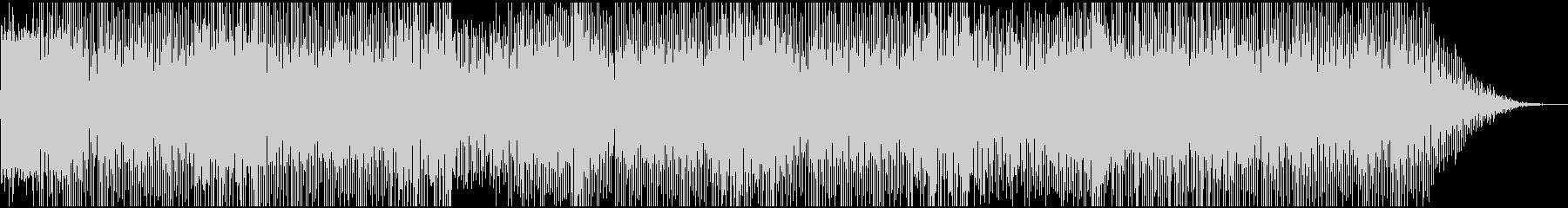オープニング向き、軽快なBGMの未再生の波形