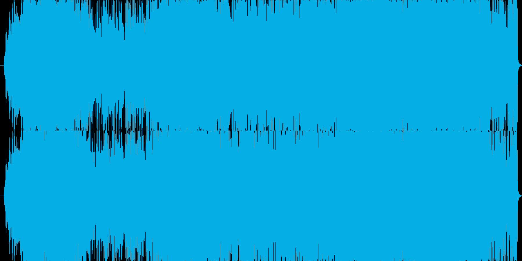 ミステリアスで疾走感のあるサウンドの再生済みの波形