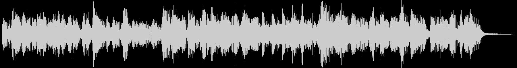 4ビートジャズのジングル2の未再生の波形
