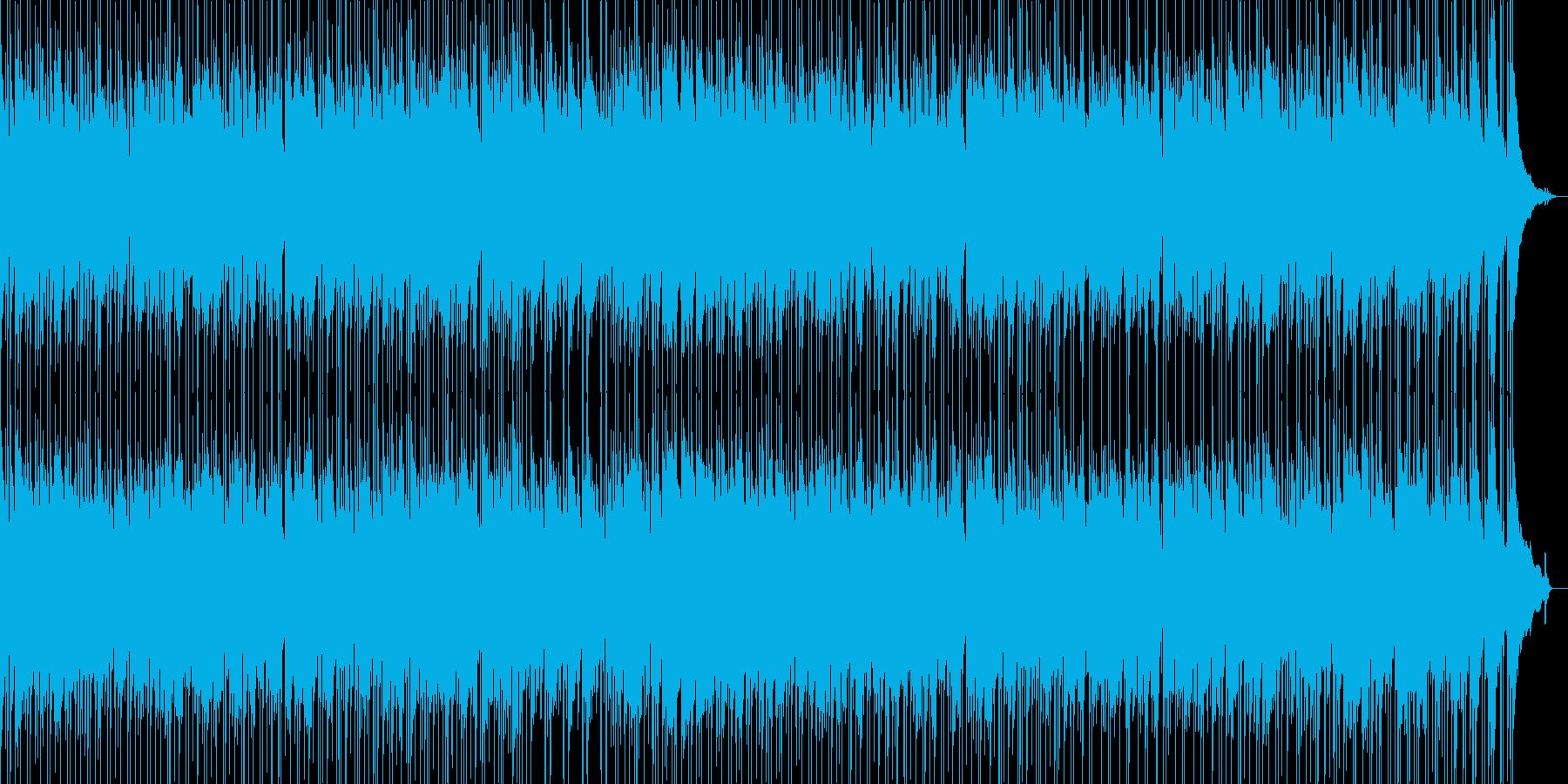 エレキギター アンサンブルの再生済みの波形