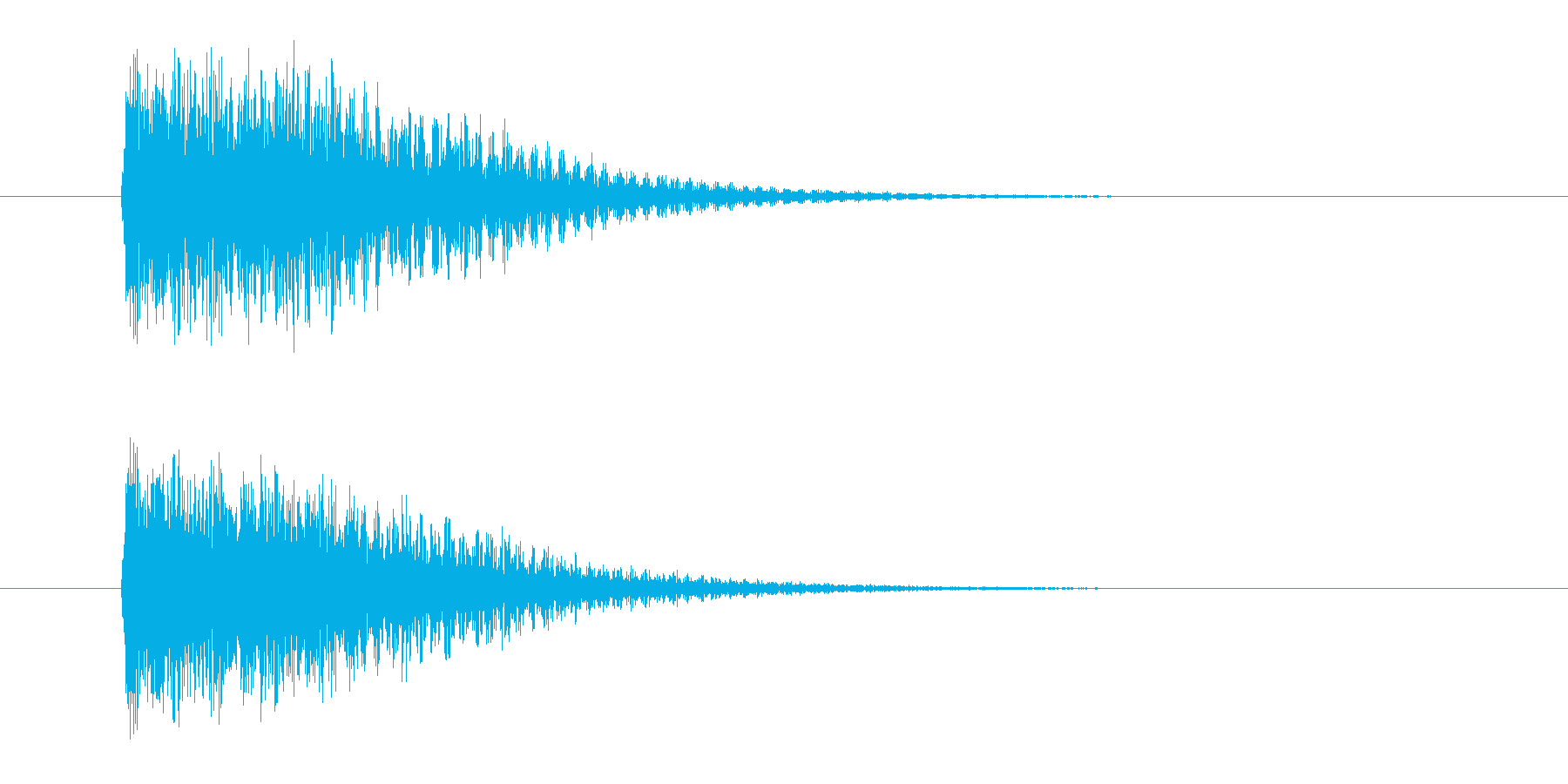 ジャンジャン(発表、登場)の再生済みの波形