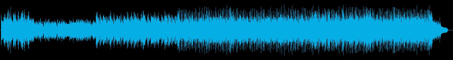 ゆったり切ないシンセサイザーサウンドの再生済みの波形