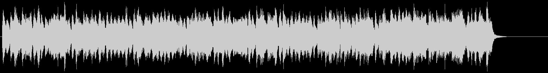 トロンボーンの旋律が明るく優しいBGMの未再生の波形