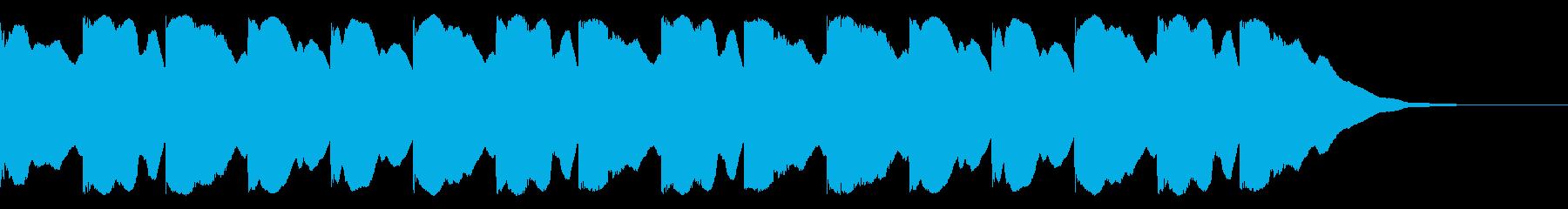 チャイム(ウエストミンスター、学校)の再生済みの波形