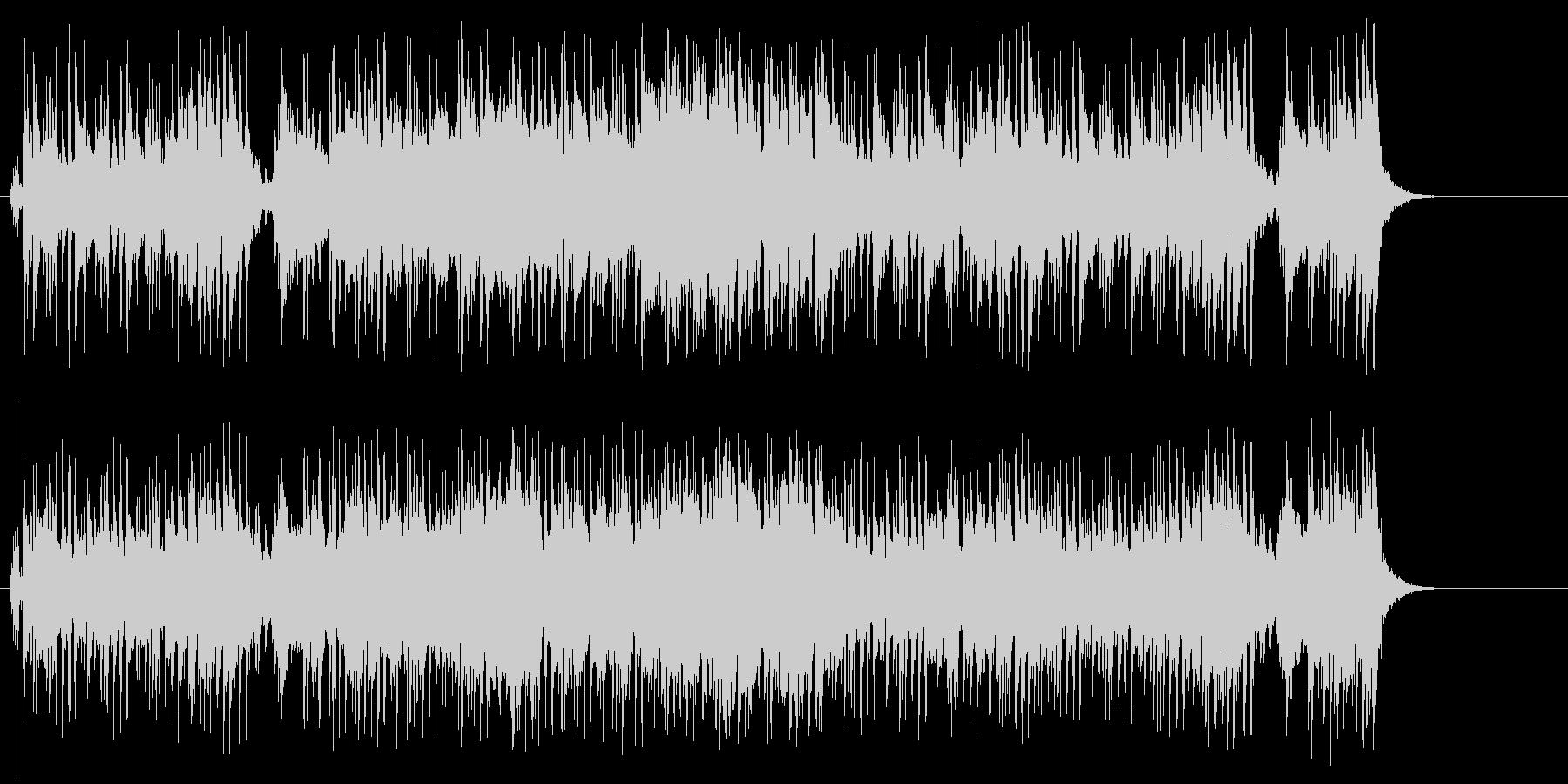 タイトル向けの広がりのあるポップスの未再生の波形