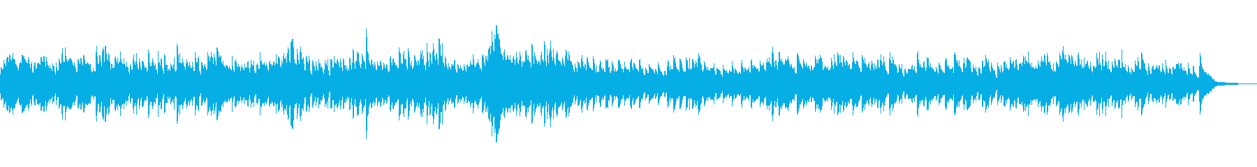 アベマリア ピアノアレンジの再生済みの波形