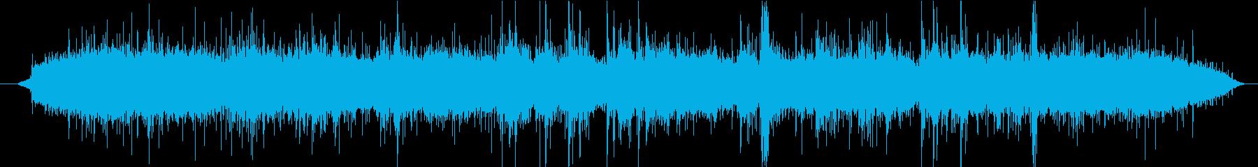 【生録音】ASMR シャワーの水の音の再生済みの波形