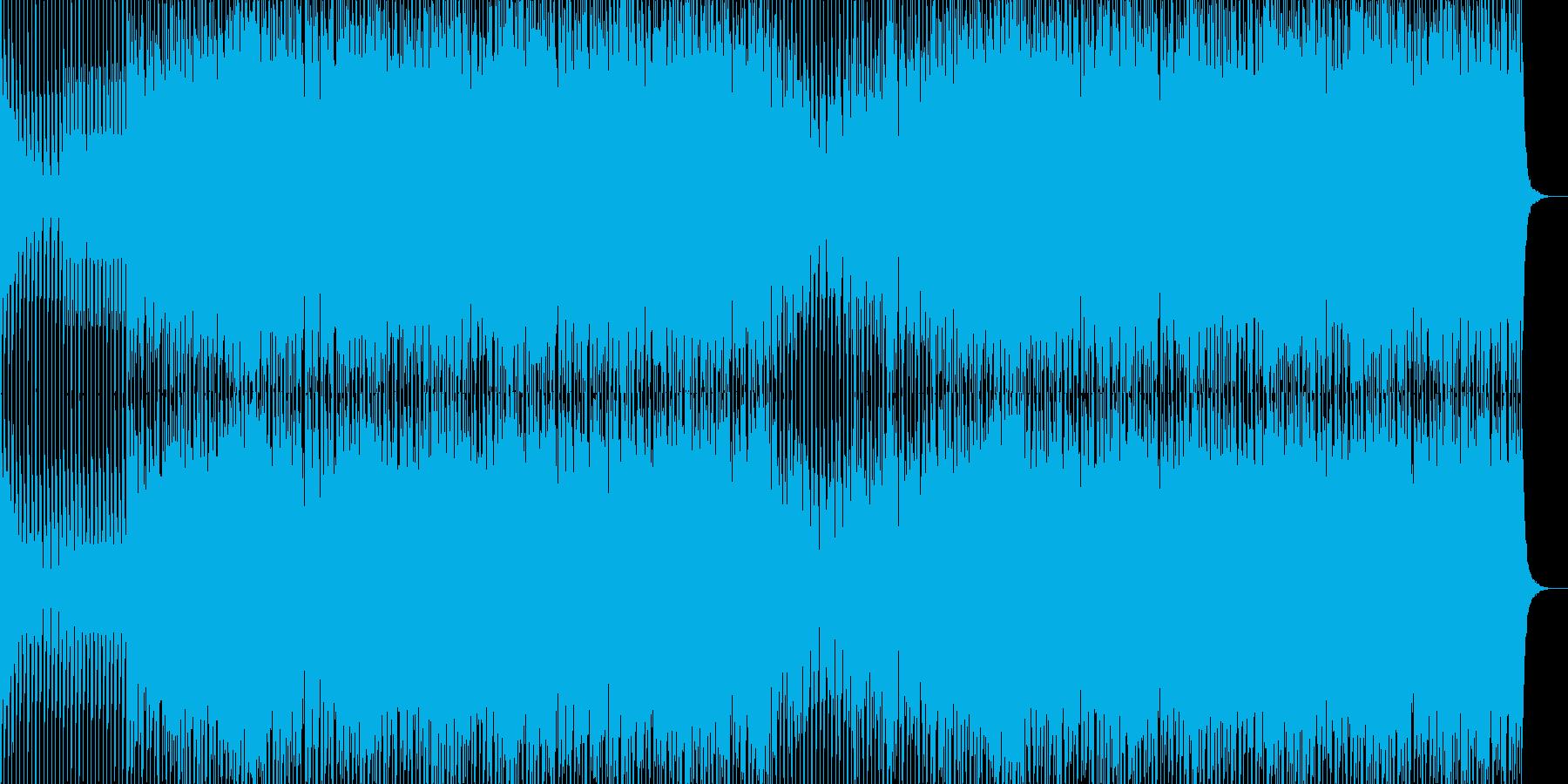 EDMポップで明るいクラブ系-60の再生済みの波形