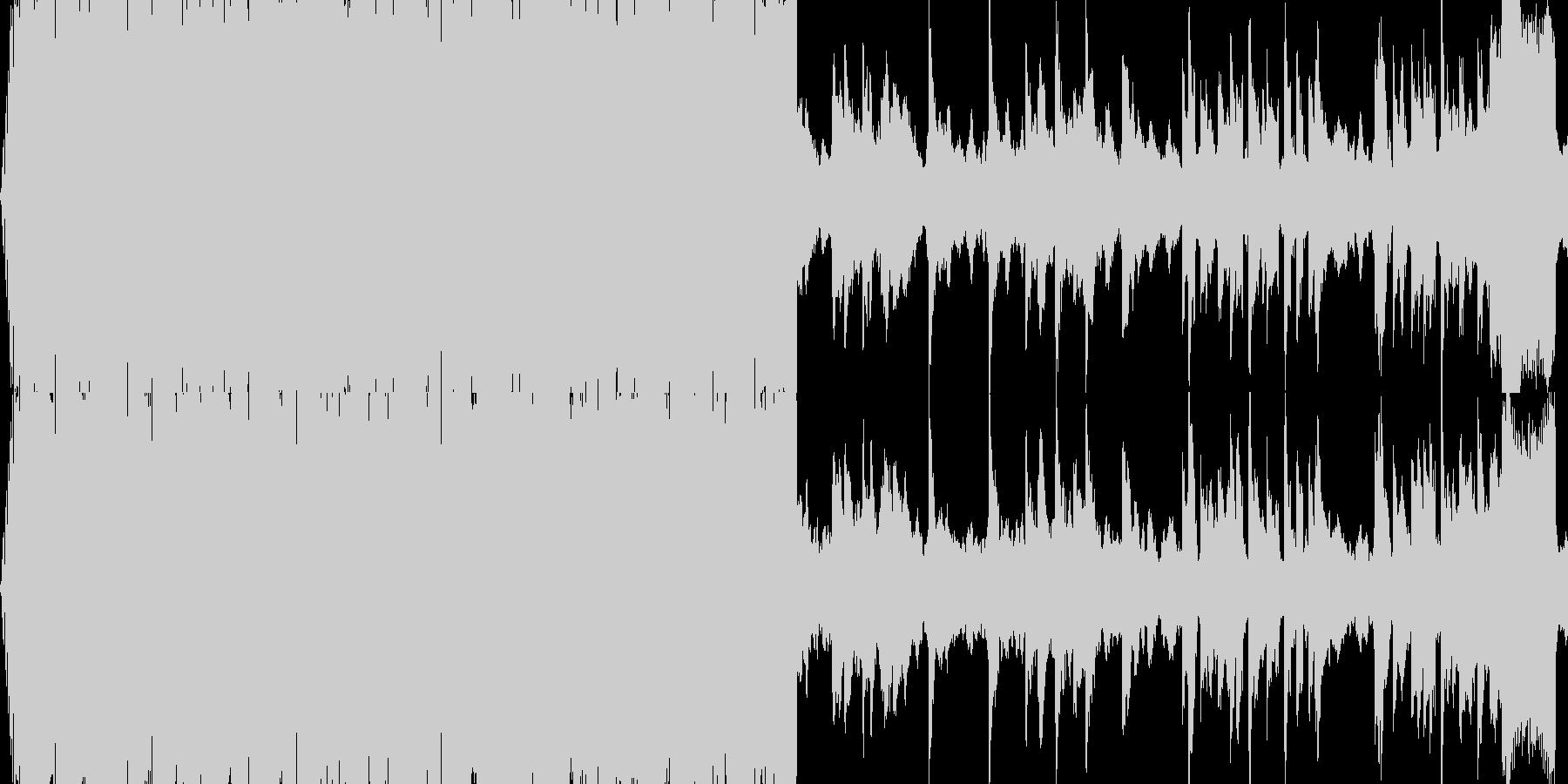 【スローテンポなバラードEDM】の未再生の波形