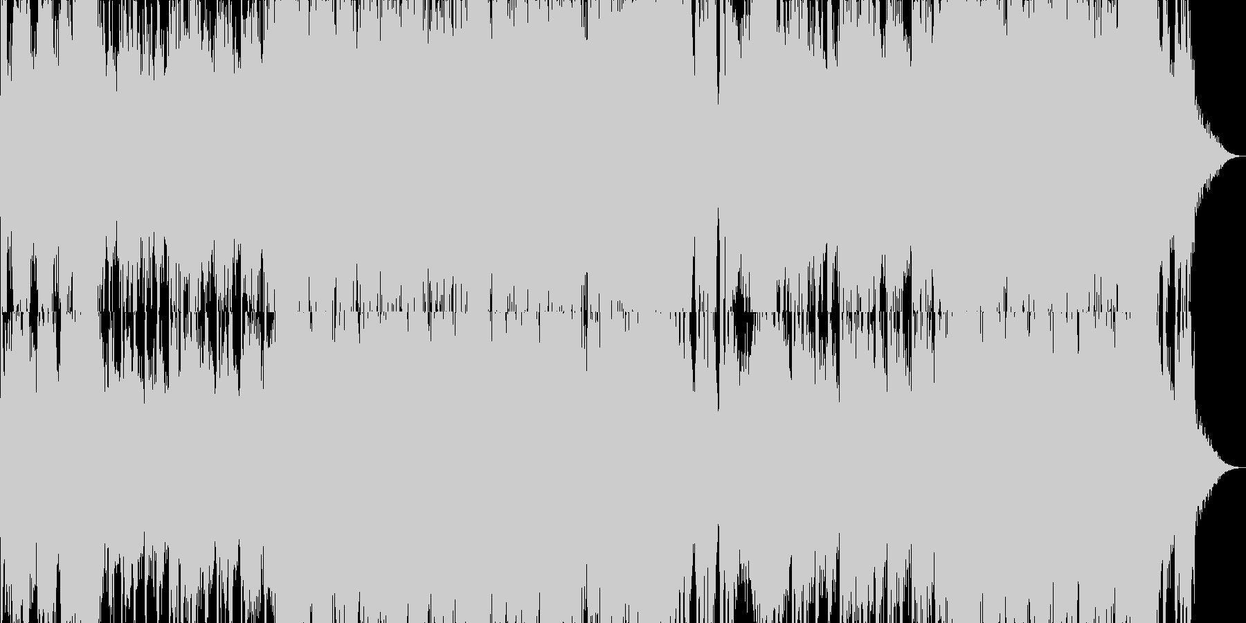 映画・ゲーム用バトルBGM21の未再生の波形