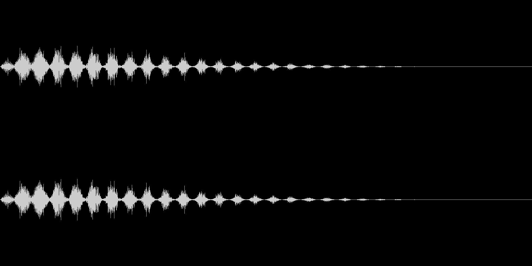 逃走/ダッシュ/風/場面転換/コミカルの未再生の波形