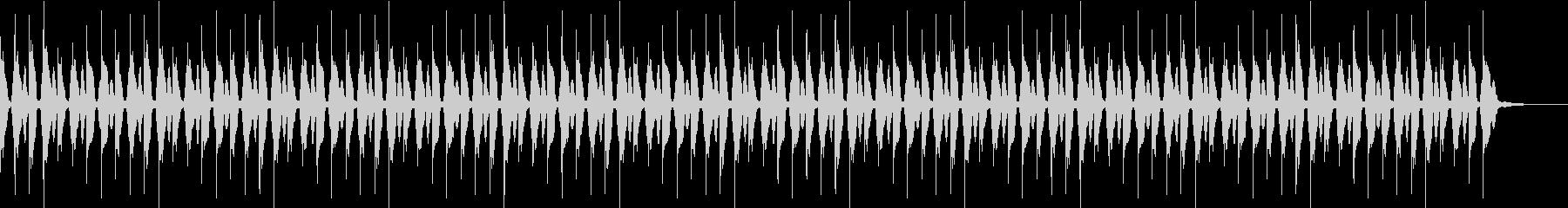 もやもやしたBGM(1分版)の未再生の波形