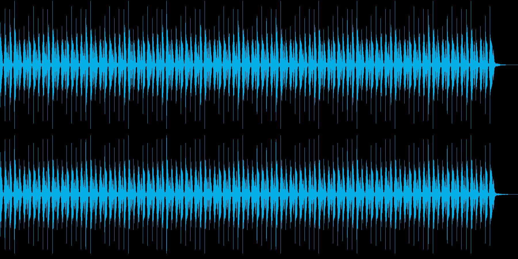 もやもやしたBGM(1分版)の再生済みの波形