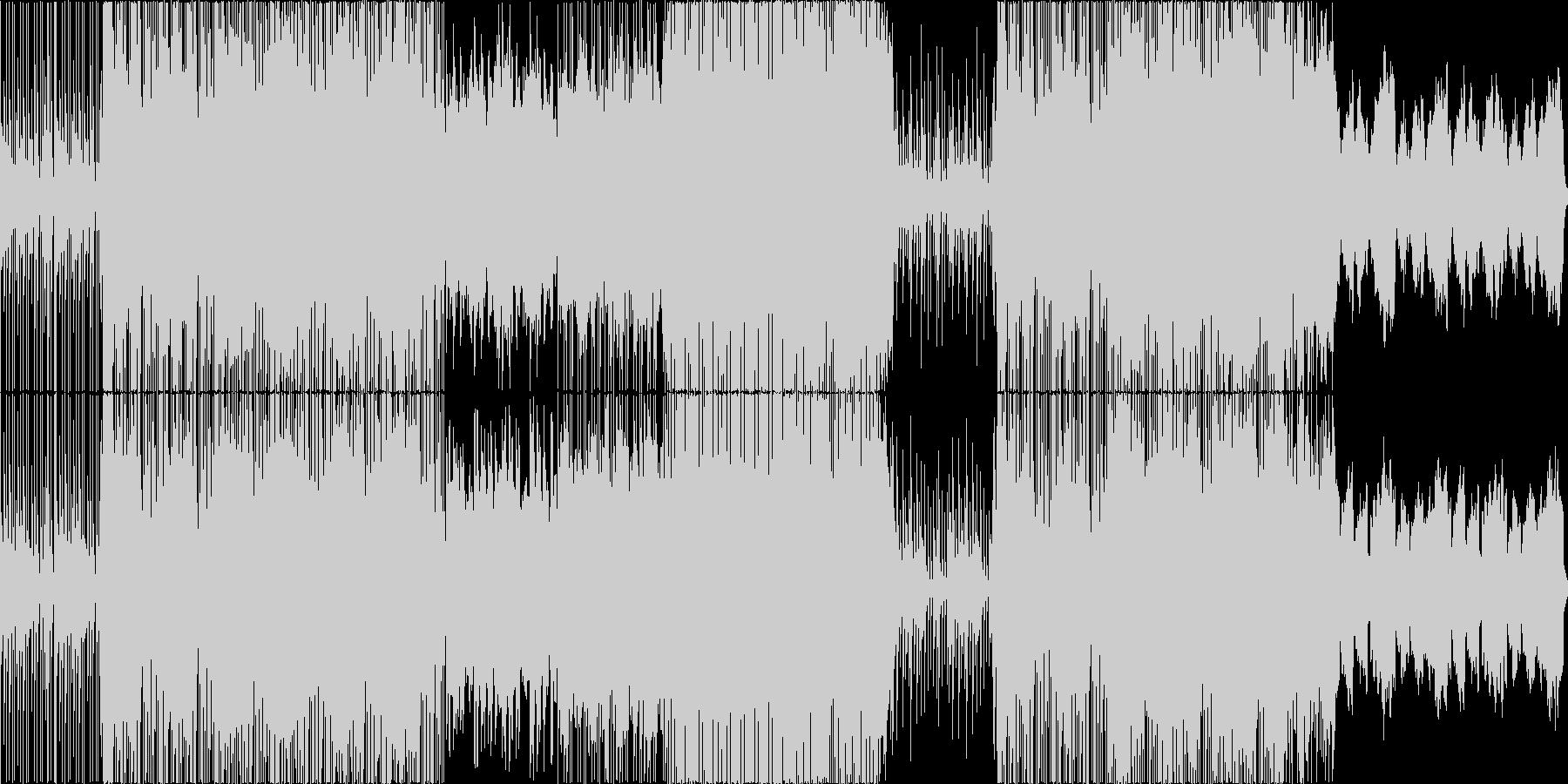 せつない、花が舞うような、ピアノの未再生の波形