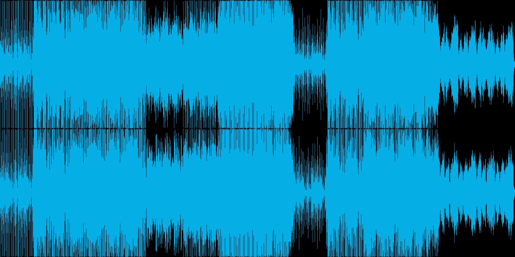 せつない、花が舞うような、ピアノの再生済みの波形