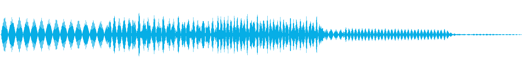 ボタン決定音システム選択タッチ登録C08の再生済みの波形