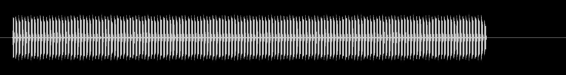 プルルルルル!高音電子音の未再生の波形