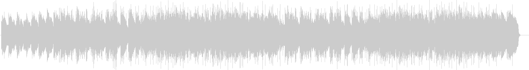 エレクトリックピアノの効いたポップスの未再生の波形
